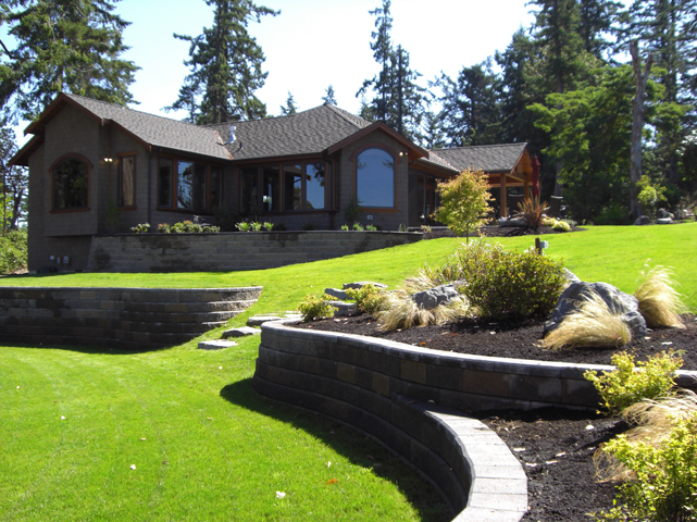 Island rock and water gig harbor wa for Landscaping rocks tacoma